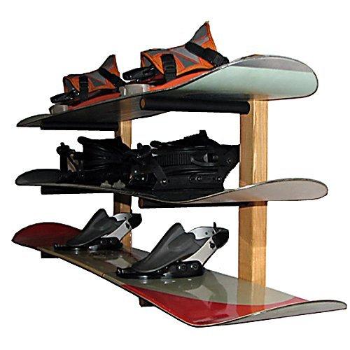 Snowboard Storage 3 Space Level