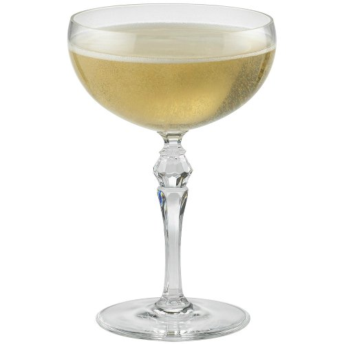 Wine Enthusiast Fusion Deco Champagne Coupe Glasses