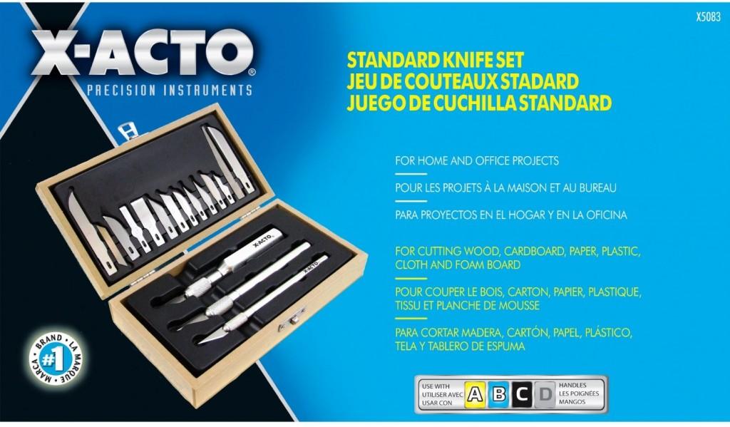 X-ACTO Standard Knife Set