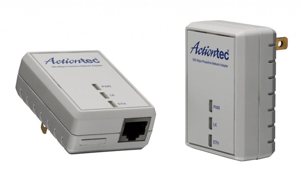 Actiontec PWR511K01 500 Mbps HomePlug