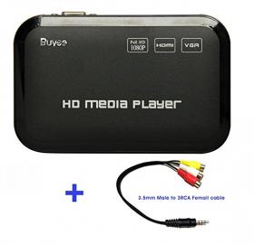 Buyee Portable Full 1080p HD Multi Media Player 3