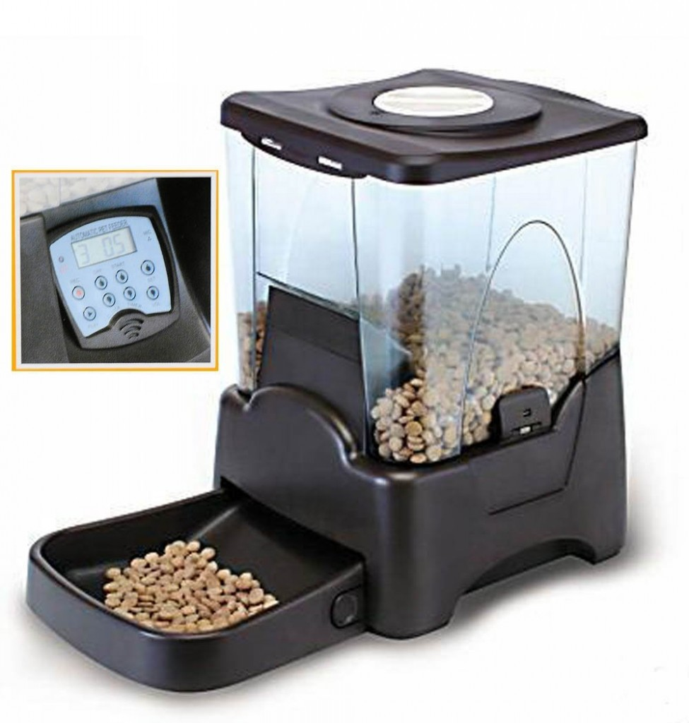 Large Automatic Pet Feeder Electronic Programmable