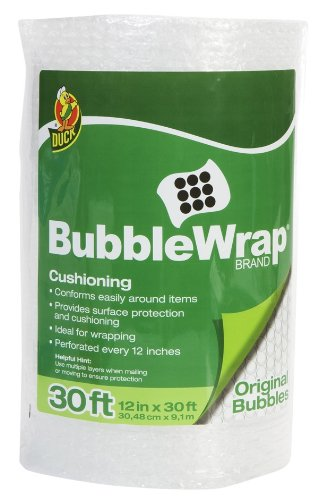 Duck Brand Bubble Wrap Protective Packaging