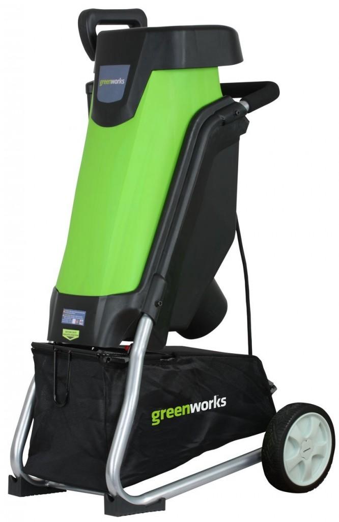 GreenWorks 24052 15 Amp Corded Shredder