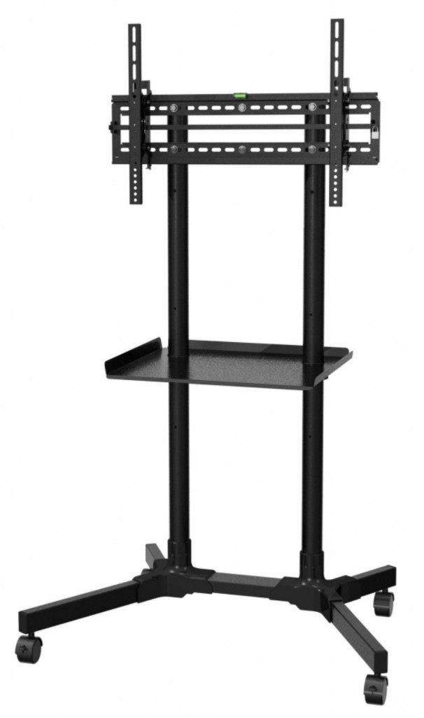 OLLO PREMIUM UNIVERSAL ROLLING TV CART TROLLEY FOR