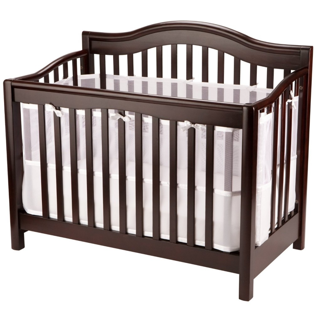 BreathableBaby CribShield Full Coverage Mesh Liner