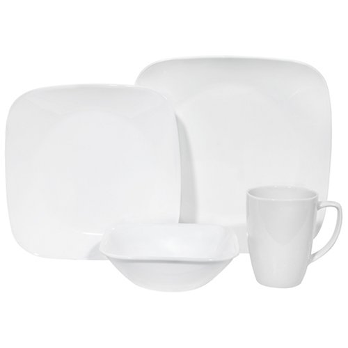 Corelle Square 16 piece Dinnerware Set