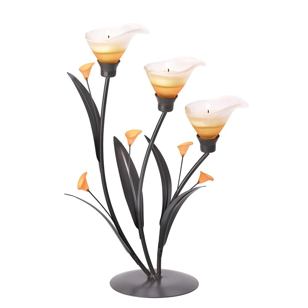Gifts & Decor Amber Lilies Flower