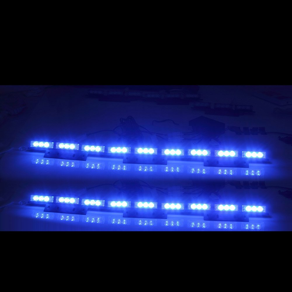 Koolertron New 54 x Ultra Bright Blue LED
