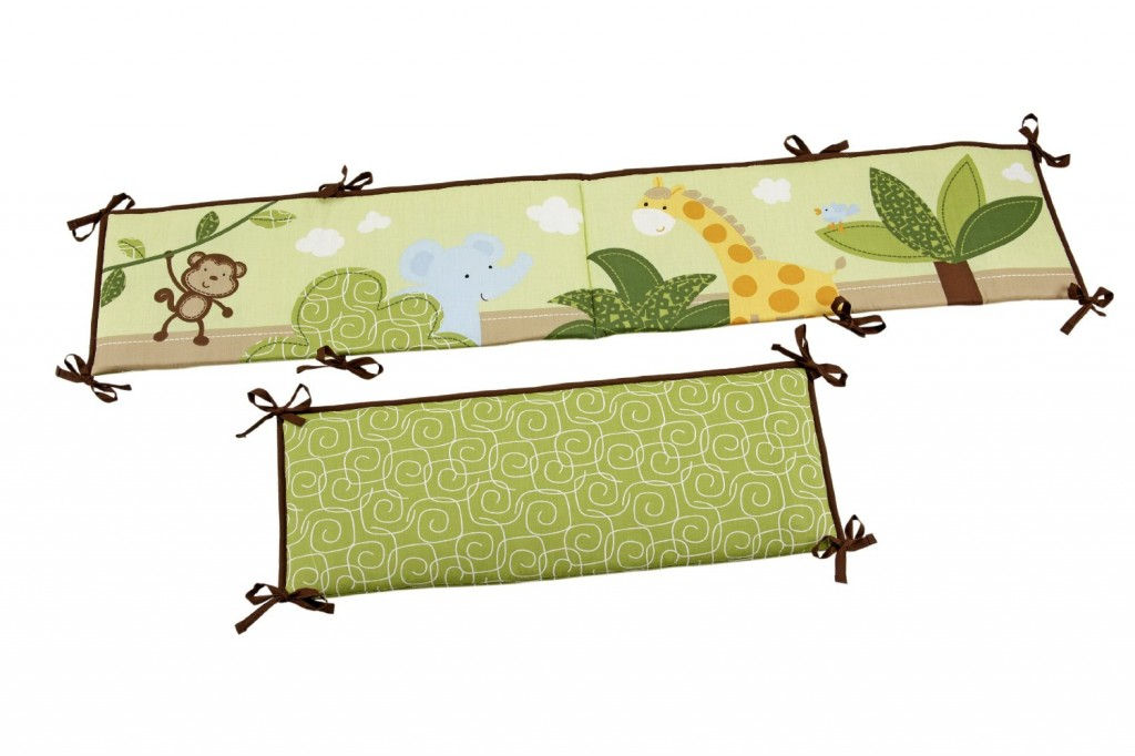 Little Bedding Traditional Padded Bumper