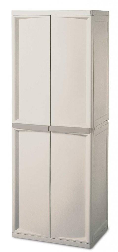 Sterilite 01428501 4-Shelf Utility Cabinet