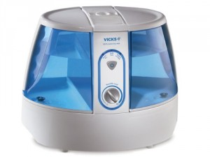 Warm Mist Humidifier - Breathe easier, sleep more comfortable