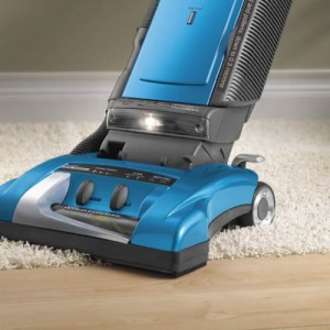 Hoover Bagged Upright Vacuum - More clean, less back strain