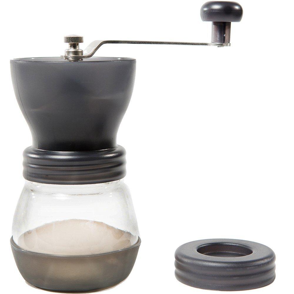 Kuissential Manual Ceramic Burr Coffee Grinder