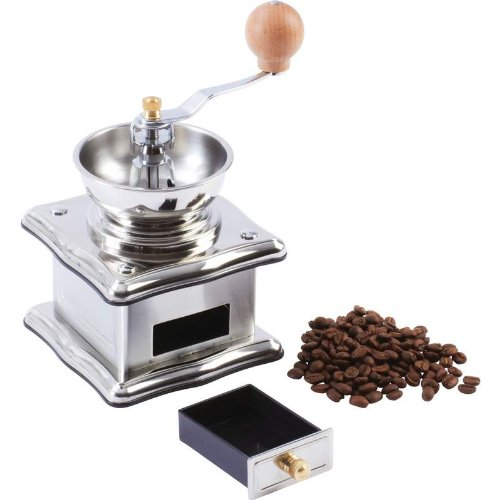 Wyndham House Stainless Steel Adjustable Manual Coffee Grinder