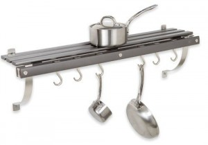 Wall Mount Pot Rack - Save more space in your kitchen