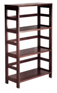 Wood Shelving Unit - keep your items organized with style