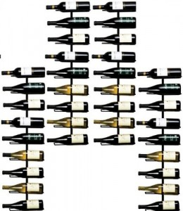 Wall Mounted Wine Rack - Display your great bottles perfectly