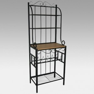 Stylish Bakers Rack - Combination of style and function