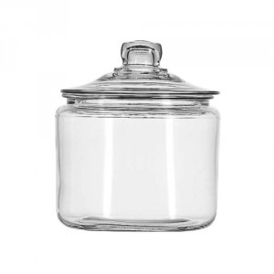 Anchor Hocking Glass Candy Jars - Display your caddies perfectly