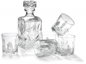 Bormioli Rocco Glass Decanter with Stopper - Quality, elegant and affordable