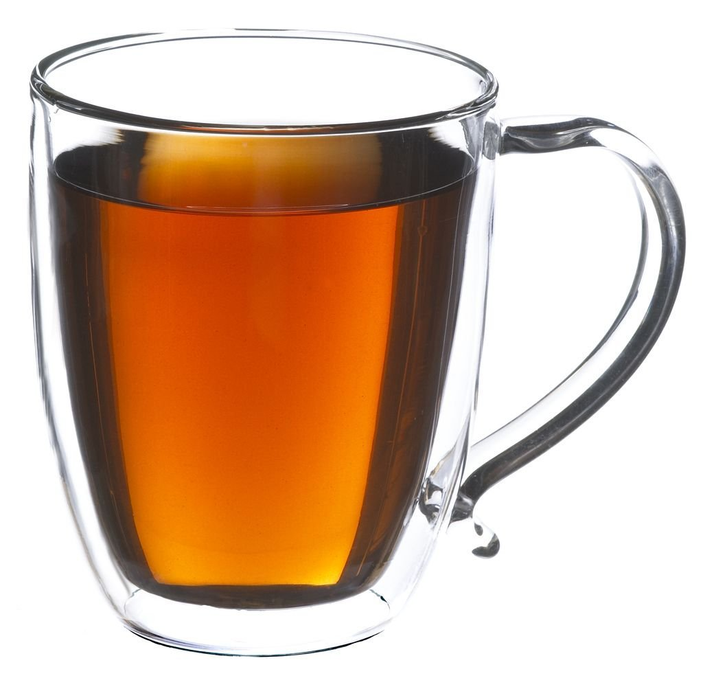 CYPRUS Double Walled Heatproof Glass Mug