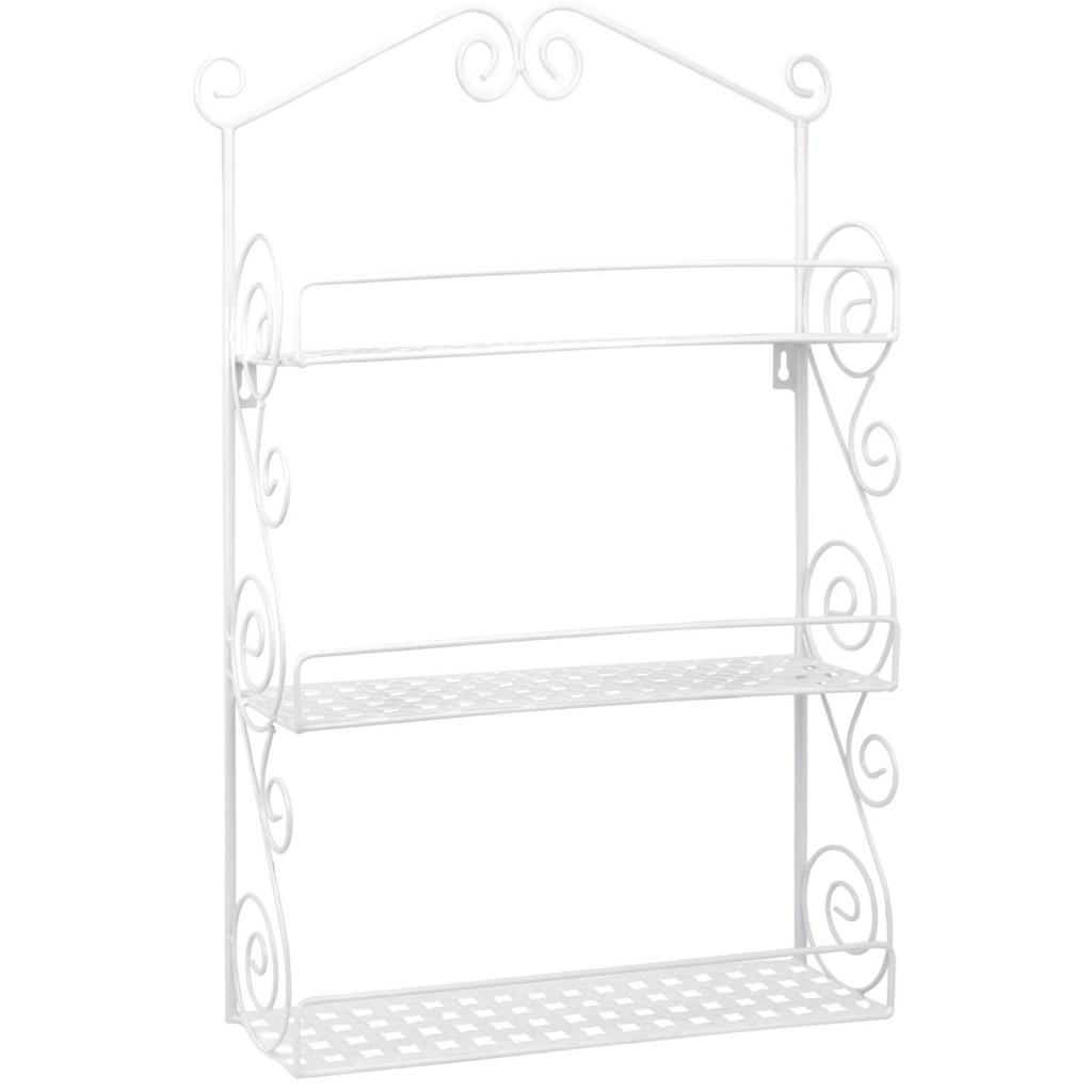 Classic Elegant Metal Wall Mounted Shelves