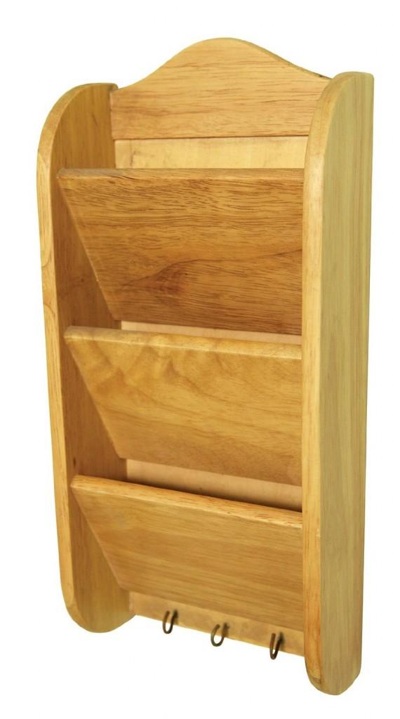 Fox Run Brands Wooden Letter Rack