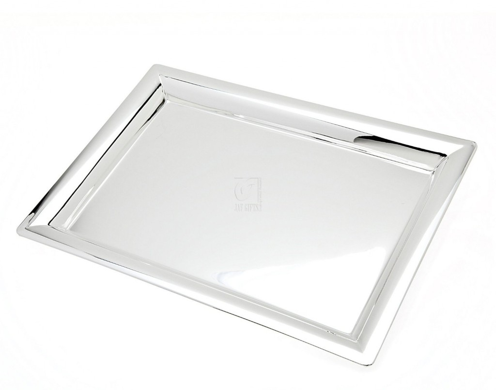 Godinger Gallery Silver Plated Tray