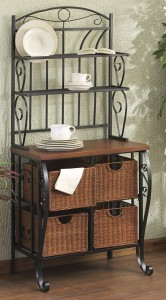 5 Best Stylish Bakers Rack – Combination of style and function