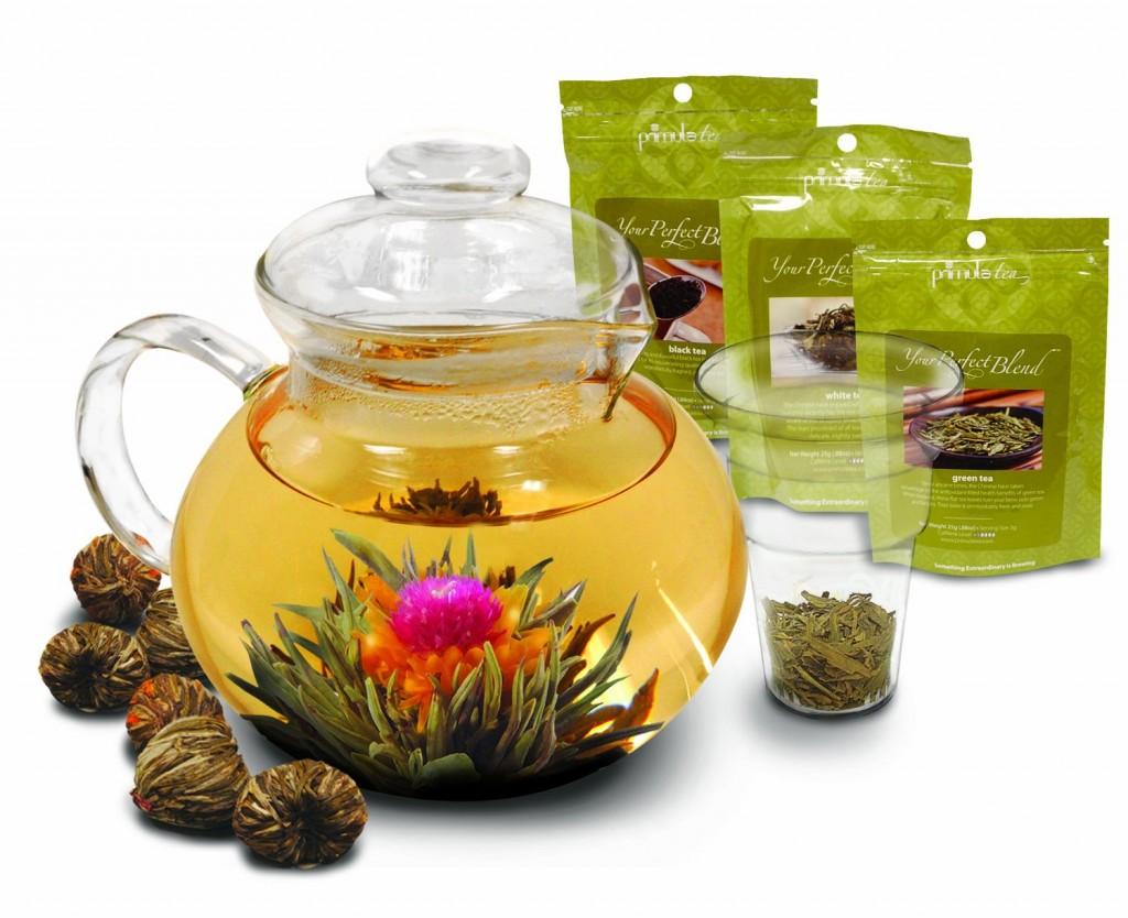 Primula PTA-4009 Flowering Tea Set