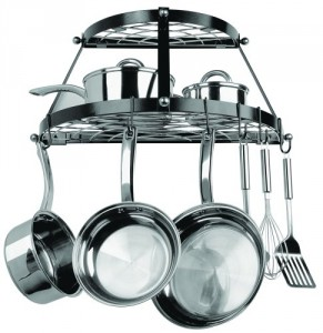 5 Best Wall Mount Pot Rack – Save more space in your kitchen