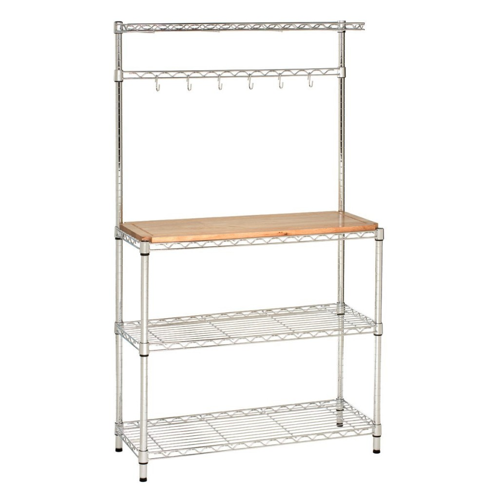 Seville Classics Bakers Rack Workstation