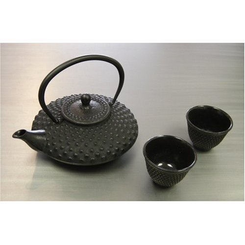 Shogun Cast Iron Tea Set Black