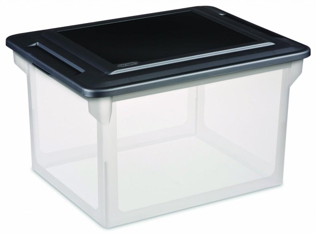 Sterilite Storage File Box