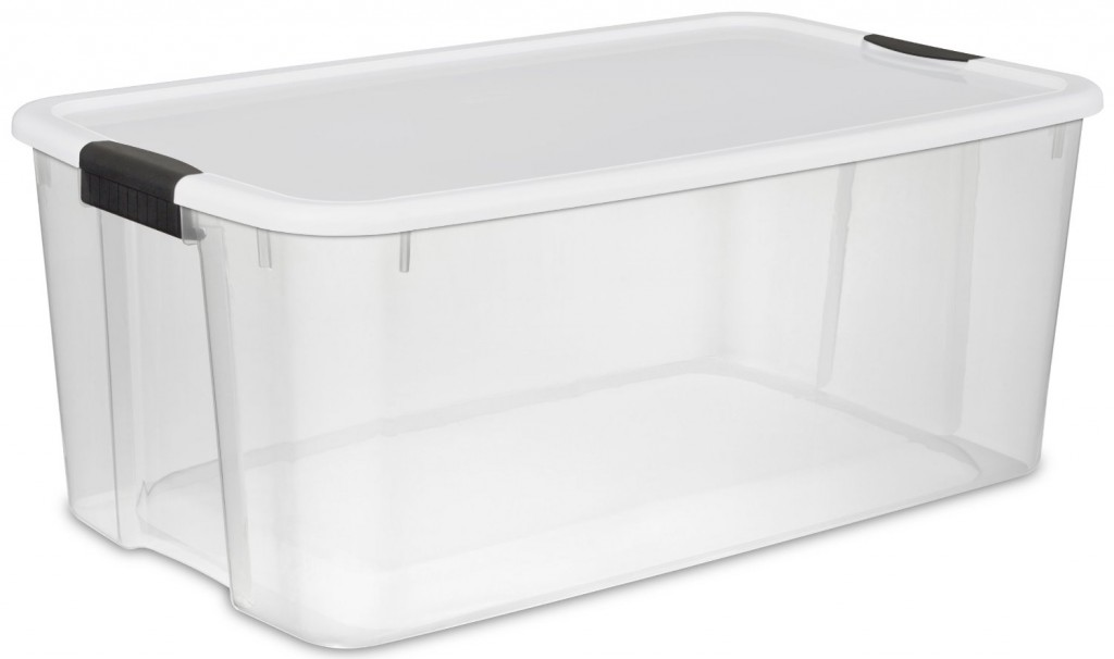 Sterilite Ultra Storage Box See-Through