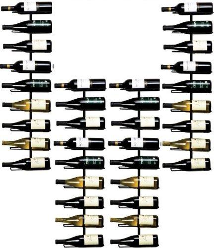 True Fabrications Wall Mount Wine Rack