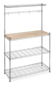 5 Best Bakers Rack with Wood Top – Organize your kitchen in a convenient way