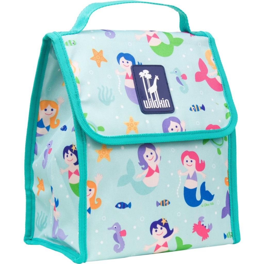 Wildkin Olive Kids Mermaids Munch n Lunch Bag