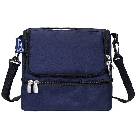 Wildkin Whale Blue Double Decker Lunch Bag
