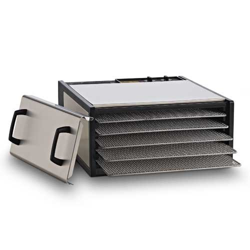 5-Tray Stainless Steel w