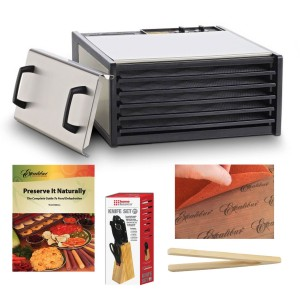 Stainless Steel Food Dehydrator - Dry safer, better, and faster