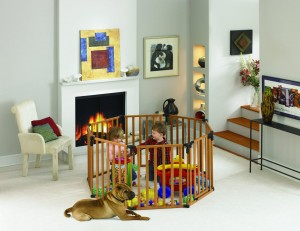 Baby Play Yard - Fun for your child, peace of mind for you