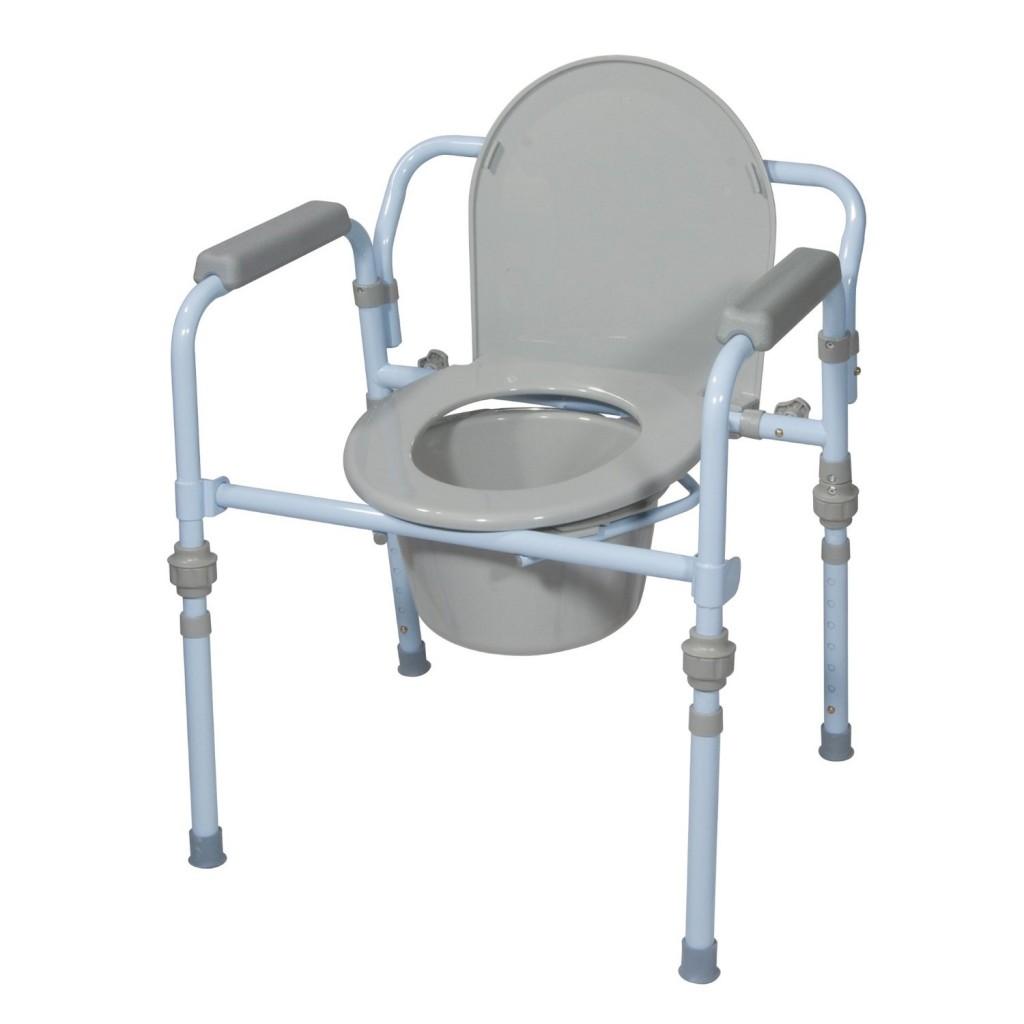 Drive Medical Folding Bedside Commode Seat