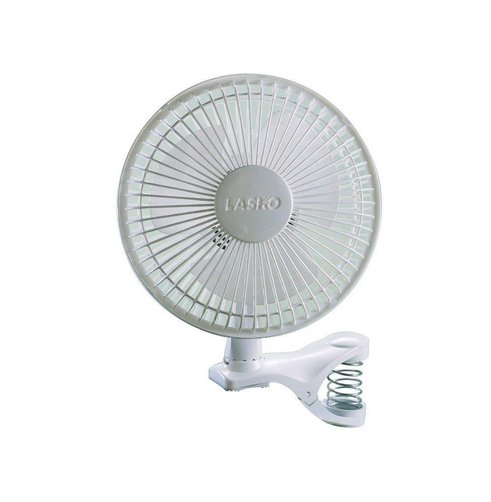 Lasko 2004W 2-Speed Clip Fan