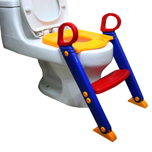 Toilet Step Stool for Kids - Great help for toddlers to reach the sink