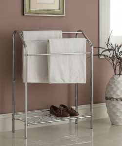 Towel Rack Stand - Great for your large bath towels