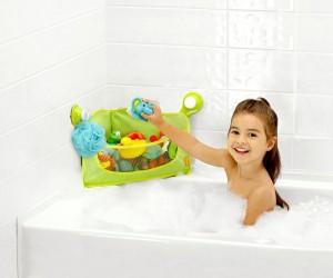 Bath Toy Organizer - No more messy tub