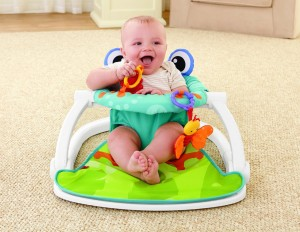 Floor Seat - Keep babies comfortable and help them maintain a sitting position