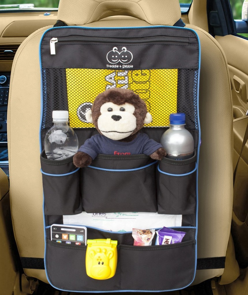Backseat Organizer - Deluxe Car Storage Organizer
